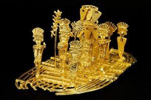 Balsa de oro de los Muiscas