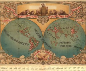 misiones franciscanas en el mundo