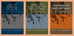 Tres volúmenes del poblamiento