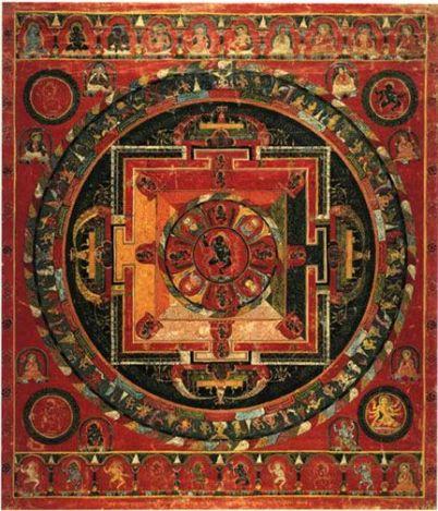 Mandala tibetano Nairatma