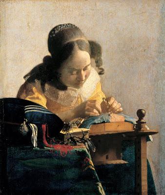 Costurera de Vermeer