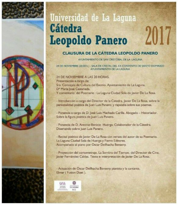 Invitación Cátedra Leopoldo Panero